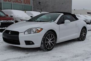 2011 Mitsubishi ECLIPSE SPYDER CONVERTIBLE+MAGS 18''+BLUETOOTH+S