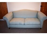 Laura Ashley Large 2 seater sofa - Gloucester Dalton Duck Egg