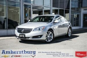 2016 Buick Regal CX - FORMER DAILY RENTAL! HEATED LEATHER SEATS!