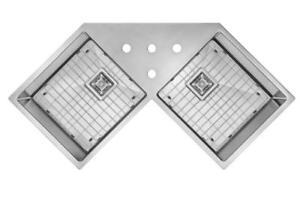 Undermount sinks, Free Grids, 16 Gauge, 5 year warranty, Since 2012. Exclusive designs