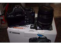 Canon EOS 550D Rebel T2i Digital SLR Camera EF-S IS 18-55mm lens