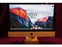 "3.06Ghz CORE 2 DUO 21.5"" APPLE iMac 4GB 500GB HD MS OFFICE 2016 VECTORWORKS CAPTURE FINAL CUT PRO X"