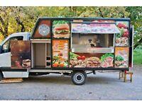 Mercedes Sprinter Catering Van Pizza Box Burger Van