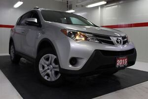 2015 Toyota RAV4 AWD Btooth BU Camera Cruise Alloys Pwr Wndws Mi
