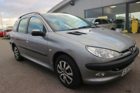 PEUGEOT 206 1.4 SW XT 5d 74 BHP GOOD QUALITY & BEST VALUE ASSURED (grey) 2003