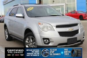 2012 Chevrolet Equinox LTZ V6| Sun| Nav| Heat Leath| Safety Pkg|