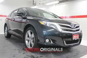2015 Toyota Venza V6 Limited AWD Heated Lthr Nav Sunroof Btooth