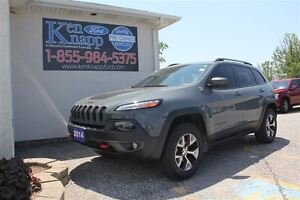 2014 Jeep Cherokee Trailhawk Edition LEATHER NAV