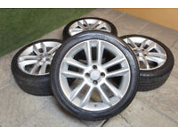 "Genuine Vauxhall Corsa D 17"" Alloy wheels & Tyres 4x100 SXI SRI Limited Edition Van"