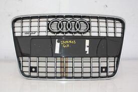 2010-2015 AUDI Q7 QUATTRO FRONT GLOSS BLACK GRILL 4L0853651G