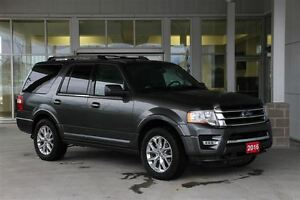 2016 Ford Expedition Limited 4WD 8 Passenger Luxury Full Size SU
