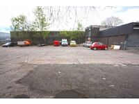Yard for car or vehicle storage, suit container storage,CCTV, secure fenced site 1 minute from M74
