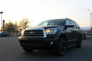 2010 Toyota Sequoia Limited 4WD LIMITED  GROUPE DIVETISMENT!! RA
