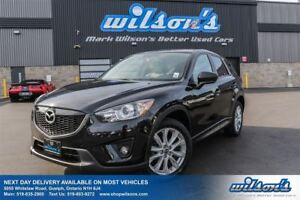 2014 Mazda CX-5 GT AWD! LEATHER! SUNROOF! BLIND SPOT MONITOR! HE