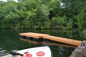 Floating Cedar Docks For Sale Kingston Kingston Area image 5