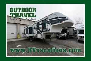 2008 Glendale TITANIUM 30E35SA USED 5TH WHEEL