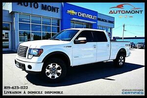 2011 Ford F-150 4WD SUPER CREW 145'' WB 4X4 / ECOBOOST / ***BAS