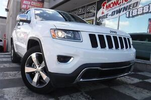 2016 Jeep Grand Cherokee LIMITED W/ NAV, LEATHER, SUNROOF