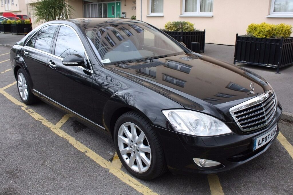 2007 MERCEDES BENZ 5.5 S500 AUTO 388 BHP, SALOON, PETROL, FULLY LOADED, FANTASTIC LIMOUSINE !!!!!!!