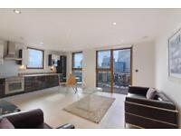 SPECTACULAR VIEWS 2 BED 2 BATH FLAT TO RENT IN STREAMLIGHT TOWER CANARY WHARF E14