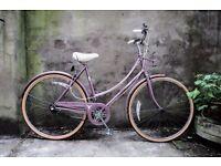 RALEIGH CAPRICE, 20 inch, 51 cm, vintage ladies womens dutch traditional road bike, loop frame