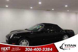 2002 Ford Thunderbird Auto Leather Seats Black Must See