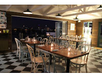 Experienced Front of House for evenings and weekends at waterfront bistro