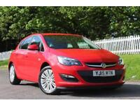 VAUXHALL ASTRA 1.4 EXCITE 5d 98 BHP 5 STAR DEALER (red) 2015
