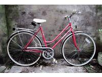 ASTRA ATLANTIC, vintage ladies women's, dutch style road bike, 20 inch, 3 speed