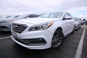 2015 Hyundai Sonata 2.0T, LEATHER, BLIND SPOT DETECTION, REAR VI