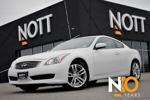 2009 Infiniti G37X Coupe AWD 1-Owner BOSE Sound