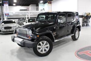 2013 Jeep WRANGLER UNLIMITED SAHARA | NAVI | CLEAN CARPROOF