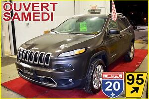2016 Jeep Cherokee LIMITED * HITCH * 4 X 4 * CUIR * TOIT