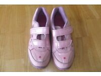 CLARKs GIRL TRAINERS