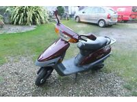49 cc low mileage moped. new battery, full service and MOT