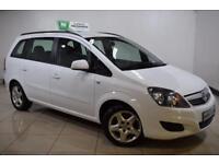 VAUXHALL ZAFIRA 1.7 EXCLUSIV NAV CDTI 5d 123 BHP (white) 2013