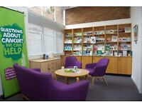 Volunteer with Macmillan @ Renfrew Library to support anyone affected by cancer