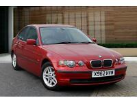 BMW 3 SERIES 316TI COMPACT - PETROL - 76000 MILES - EXCELLENT CONDITION