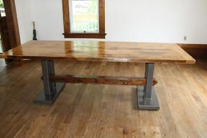 Custom Made Reclaimed Wood Furniture Dining Tables And
