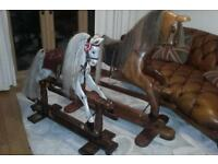 Old full size rocking horse
