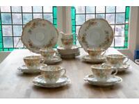 Vintage old tea set