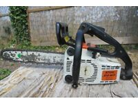 "Stihl 012AVP chainsaw, top handle, 45cc, 16"" bar. SEE VIDEO!!!"