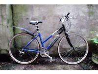 TREK 7300 FX, 17.5 inch, ladies womens hybrid road bike, 21 speed