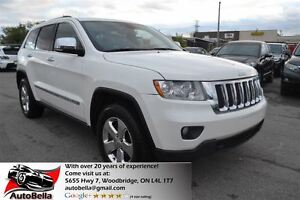 2011 Jeep Grand Cherokee Overland Navigation R.Camera Leather