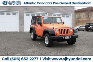 2012 Jeep Wrangler Sport! Auto! A/C! $175 BI-WEEKLY!