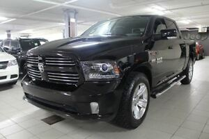 2014 Dodge Ram 1500 SPORT PLUS CREW 4X4 *CUIR/TOIT/NAV/CAMERA RE