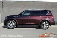 2011 Infiniti QX56 Tech Pkg - Rear DVD - 7 Passenger - 80KMS