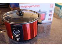 Morphy Richard 3.5L Digital sear and stew Slow cooker