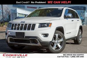 2016 Jeep Grand Cherokee Limited, ROOF, LEATHER, BACK UP