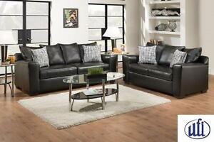 Brand NEW Yahtzee Onyx Sofa and Loveseat! Call709-726-6466!